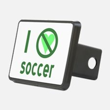 I Hate Soccer Hitch Cover