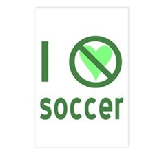 I Hate Soccer Postcards (Package of 8)