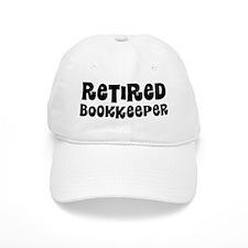 Retired Bookkeeper Baseball Baseball Cap