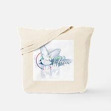 Peace Dove Tote Bag