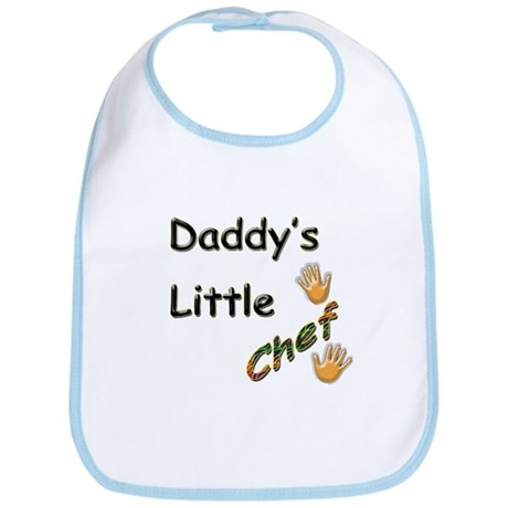 Daddy's Little Chef Bib