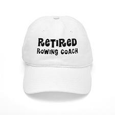 Retired Rowing Coach Baseball Baseball Cap