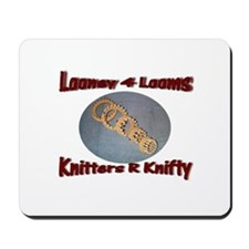Looney 4 Looms Mousepad