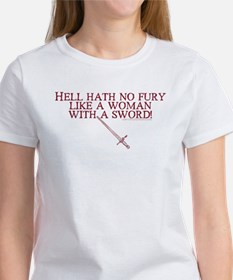 Woman with a Sword Women's T-shirt