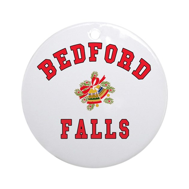 Its A Wonderful Life Bedford Falls Ornament By Scarebaby