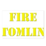 Fire Tomlin Outline Postcards (Package of 8)