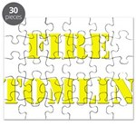 Fire Tomlin Outline Puzzle