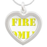 Fire Tomlin Outline Necklaces