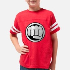 Fist of Goodness Youth Football Shirt