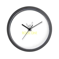 Rock On! Wall Clock