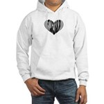 Flugelhorn Heart Hooded Sweatshirt