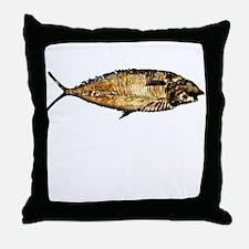 Darwin not fiction Throw Pillow