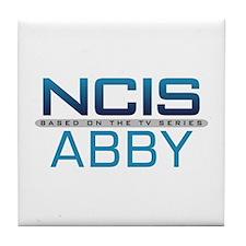 NCIS Logo Abby Tile Coaster