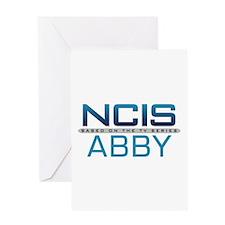 NCIS Logo Abby Greeting Card