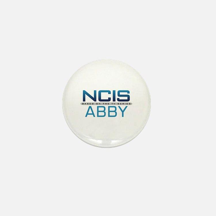 NCIS Logo Abby Mini Button