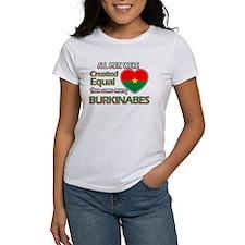 Burkinabes wife designs Tee