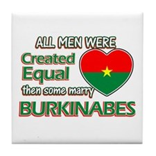 Burkinabes wife designs Tile Coaster