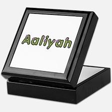 Aaliyah Spring Green Keepsake Box