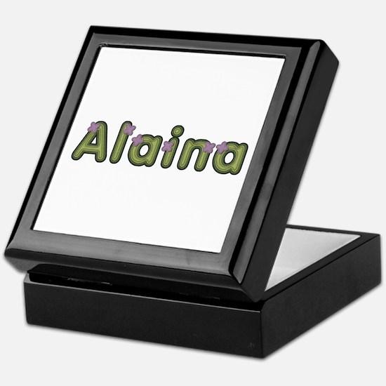 Alaina Spring Green Keepsake Box