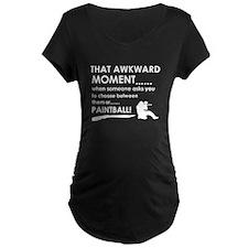 Awkward moment paintball designs T-Shirt