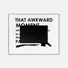 Awkward moment paintball designs Picture Frame