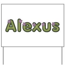Alexus Spring Green Yard Sign