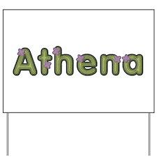 Athena Spring Green Yard Sign