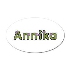 Annika Spring Green Wall Decal