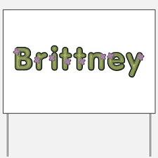 Brittney Spring Green Yard Sign