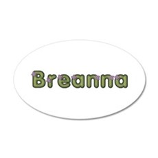 Breanna Spring Green Wall Decal