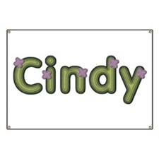 Cindy Spring Green Banner