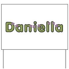 Daniella Spring Green Yard Sign