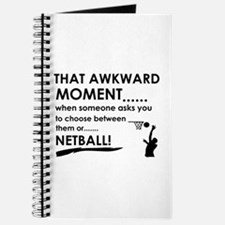 Awkward moment netball designs Journal