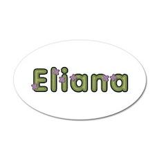 Eliana Spring Green 20x12 Oval Wall Decal