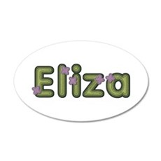 Eliza Spring Green Wall Decal