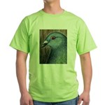 Homer Head Green T-Shirt