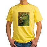 Homer Head Yellow T-Shirt
