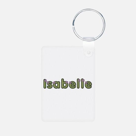 Isabelle Spring Green Aluminum Keychain
