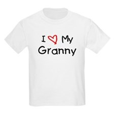 I Love My Granny Kids T-Shirt