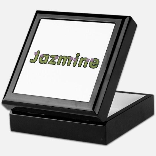 Jazmine Spring Green Keepsake Box