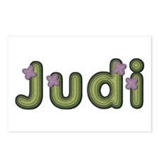 Judi Spring Green Postcards 8 Pack