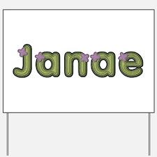 Janae Spring Green Yard Sign