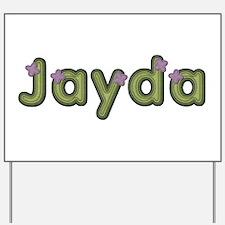 Jayda Spring Green Yard Sign