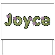 Joyce Spring Green Yard Sign