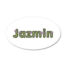 Jazmin Spring Green Wall Decal