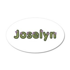 Joselyn Spring Green 20x12 Oval Wall Decal