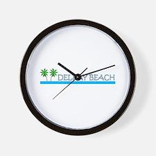 Delray Beach, Florida Wall Clock