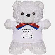 Awkward moment lawn bowling designs Teddy Bear