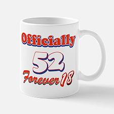 Funny 52 year old birthday designs Mug