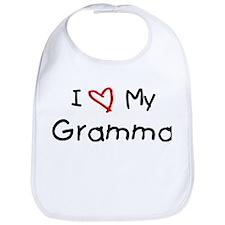 I Love My Gramma Bib